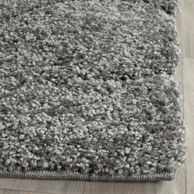 Flanery Gray/Beige Area Rug Rug Size: Rectangle 8 x 10
