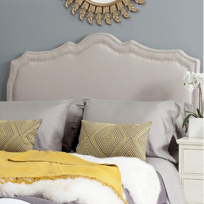 Quiana Upholstered�Panel Headboard Size: Full, Color: Taupe