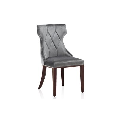 Sutherland Upholstered Dining Chair Color: Grey