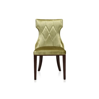 Sutherland Upholstered Dining Chair Color: Olive Green