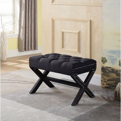Stapleford Ottoman Upholstery: Black