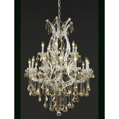 Regina 19-Light Royal Cut Crystal Chandelier