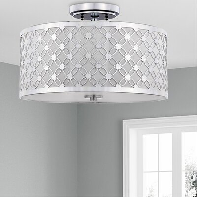 Snodland 3-Light Semi Flush Mount