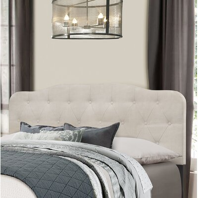 Chesterwood Upholstered Panel Headboard Size: King, Upholstery: Fog