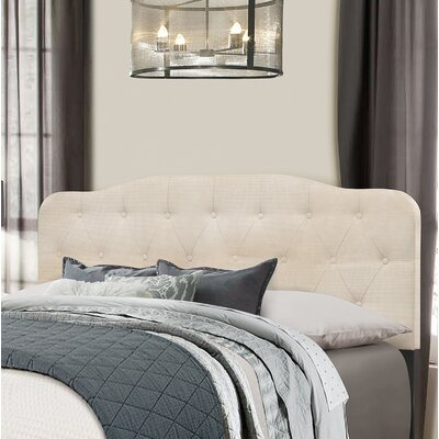 Chesterwood Upholstered Panel Headboard Size: King, Upholstery: Linen