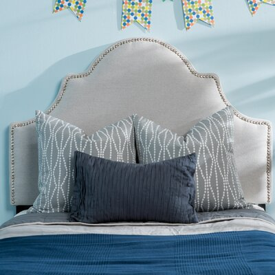 Corbett Upholstered Panel Headboard Upholstery: Light Gray, Size: Twin