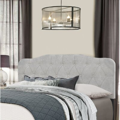 Chesterwood Upholstered Panel Headboard Size: Full/Queen, Upholstery: Glacier Gray