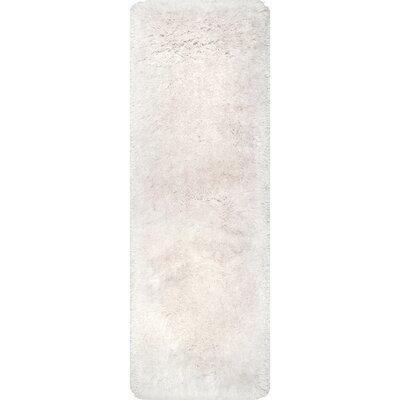 Bathurst Hand-Tufted Ivory Area Rug Rug Size: Runner 26 x 8