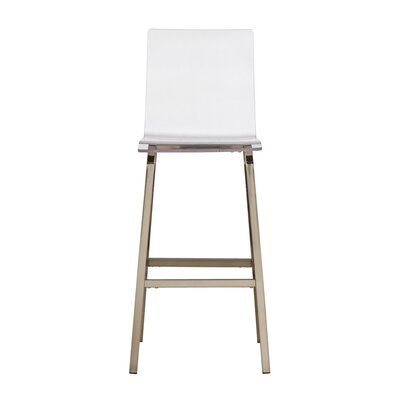 Paramount 29 Bar Stool Finish: Champagne Gold