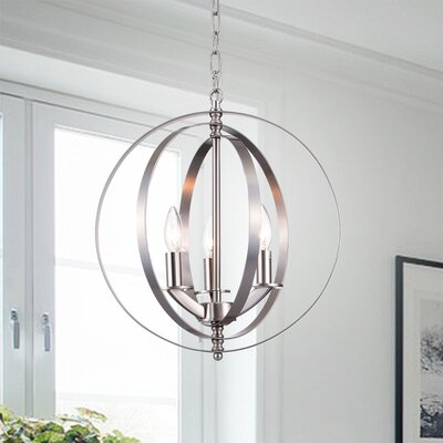 Mcginley Globe 3-Light Globe Pendant