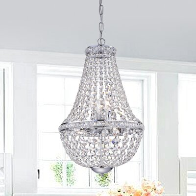Mcgill 4-Light Drum Chandelier