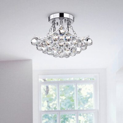 Broadbent 4-Light Semi Flush Mount