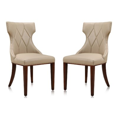 Sutherland Upholstered Dining Chair Color: Cream