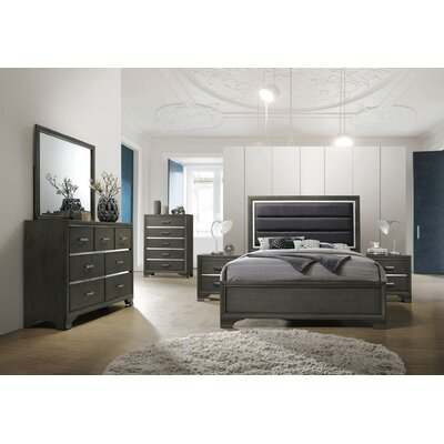 Mcree Panel 4 Piece Bed Set Bed Size: King