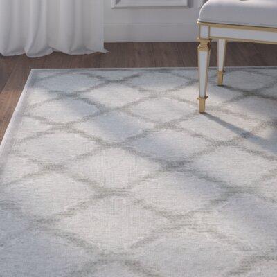 Berloz Gray/Spruce Area Rug Rug Size: Rectangle 4 x 57