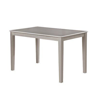 Kitterman Simplicity Dining Table Size: 30 H x 48 W x 30 D