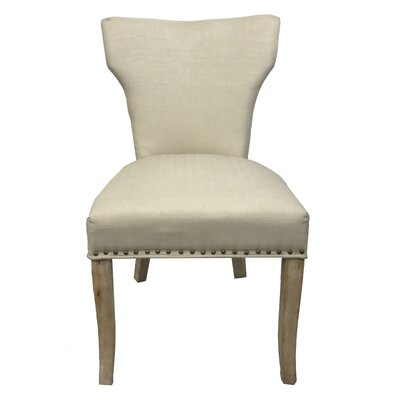 Morning side Sleek Drive Upholstered Dining Chair Upholstery: Beige
