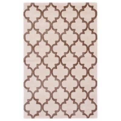Sampson Hand-Tufted Gray Area Rug Rug Size: Rectangle 2 x 3