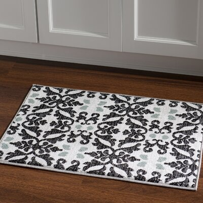 Margerite Ivory Area Rug Rug Size: Rectangle 2 x 3