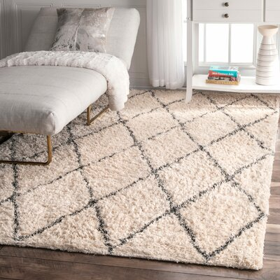 Jackson Ivory Area Rug Rug Size: Rectangle 5 x 8