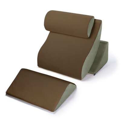 Avana Kind Bed Orthopedic Support Pillow Comfort System Color: Mocha/Sage