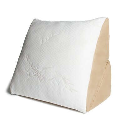 Memory Foam Flip Pillow with Bamboo Cover