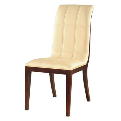 Royal Parsons Chair Upholstery: Cream