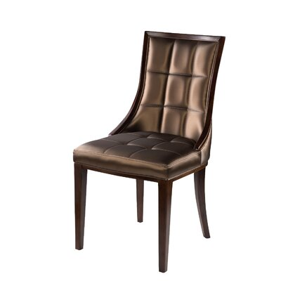 Barrel Side Chair Upholstery: Champagne