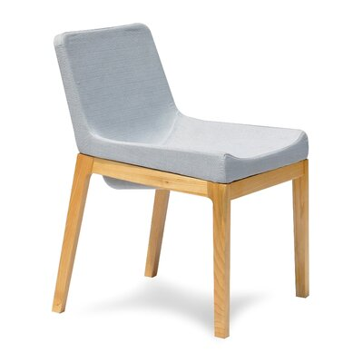 Soho Side Chair Upholstery: Grey