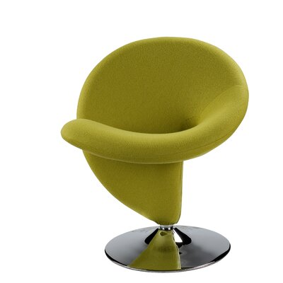 Herkimer Lounge Chair Upholstery: Green