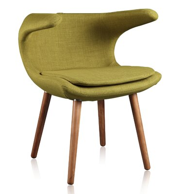 Ramonita Lounge Chair Color: Grass Green