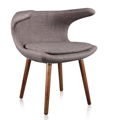 Clipper Lounge Chair Color: Gray