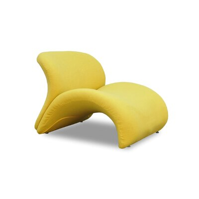 Sweet Lip Lounge Chair Color: Yellow