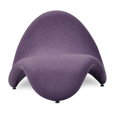 Tongue Lounge Chair NCAA Team: Purple