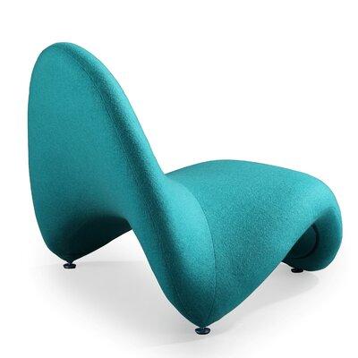 Tongue Lounge Chair NCAA Team: Blue