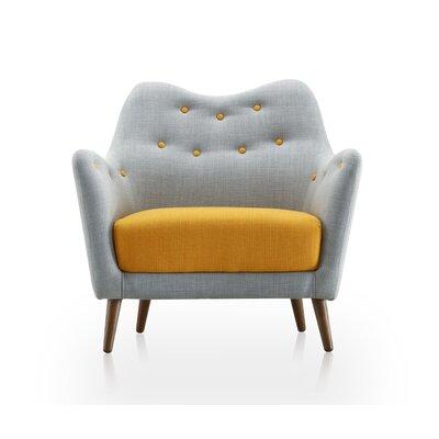 Sweetheart Arm Chair Upholstery: Hazy Blue