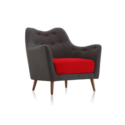 Shuford Armchair Upholstery: Charcoal