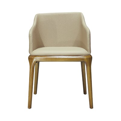 Malta Genuine Leather Upholstered Dining Chair