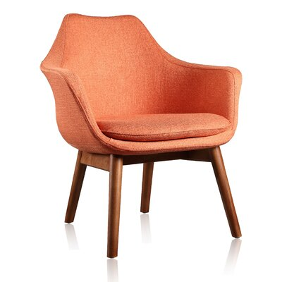 Shue Armchair Upholstery: Orange