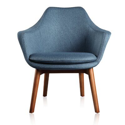 Cronkite Leisure Armchair Upholstery color: Blue