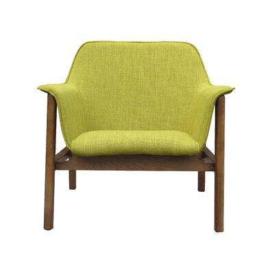 Miller Armchair Upholstery: Green
