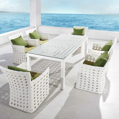 Orchard 7 Piece Dining Set with Cushions