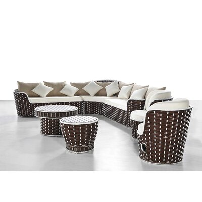 Fawn 7 Piece Lounge Sectional Set