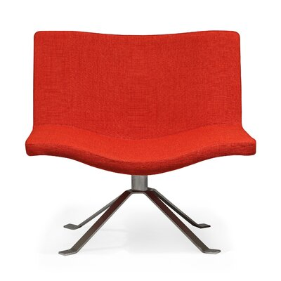 Ray Lounge Chair Upholstery: Red Pepper