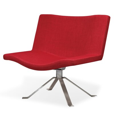 Ray Lounge Chair Upholstery: Cherry
