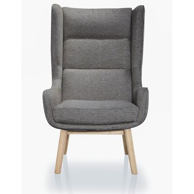 Sampson Wing back Chair MLB Team: Dark Gray