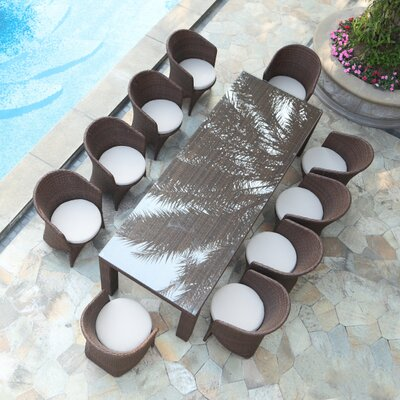 Ultimate Palm Dining Set Cushions - Product picture - 225