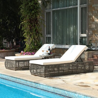 Pavilion Chaise Lounge with Cushions