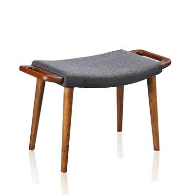 Geta Ottoman Upholstery: Gray