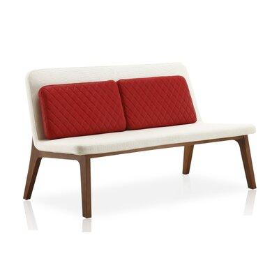 Marleigh Loveseat Upholstery: Bone White